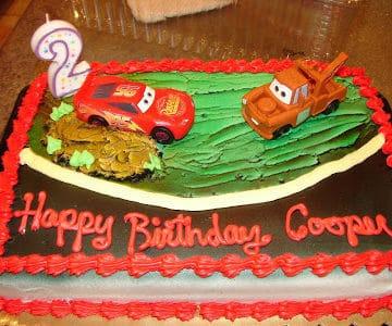 First 2nd birthday celebration.