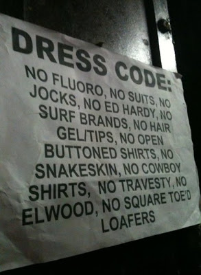Dress code gone confusing.