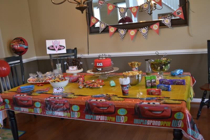 Cars Birthday Party via Stilettos and Diapers