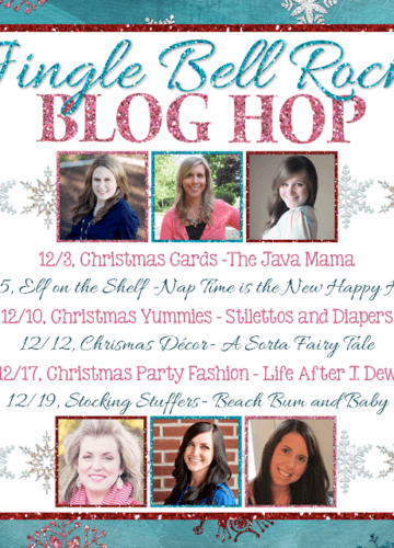 A little partying: Jingle Bell Rock Blog Hop