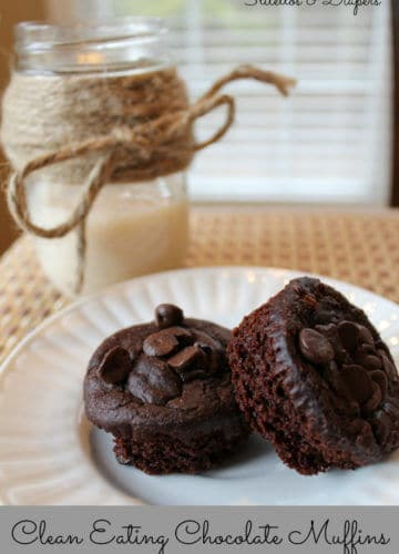 Clean Eating: Chocolate Muffins