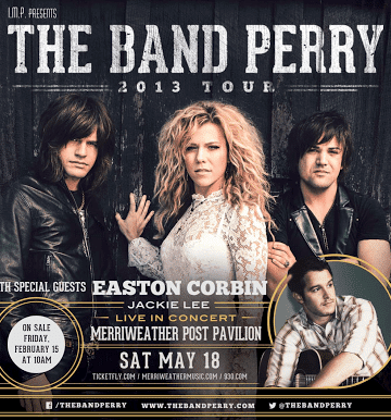 The Band Perry at Merriweather Post Pavilion {GIVEAWAY}