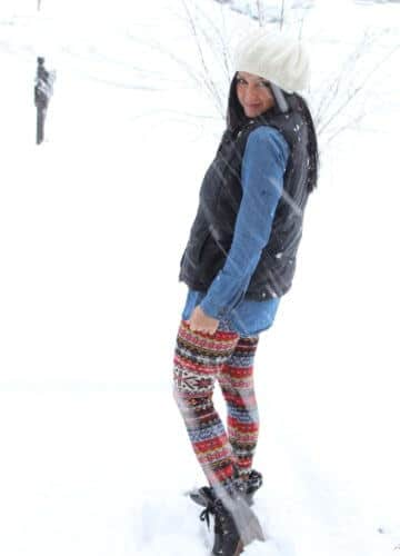 Snow Covered {A Fashion Post}