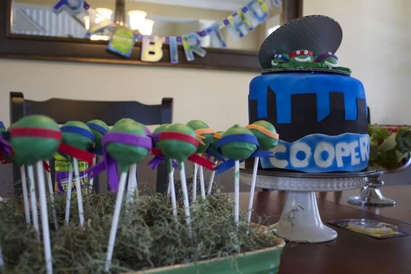 Teenage Mutant Ninja Turtle Party via Stilettos and Diapers
