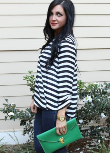 Date Night Stripes {A Fashion Post}