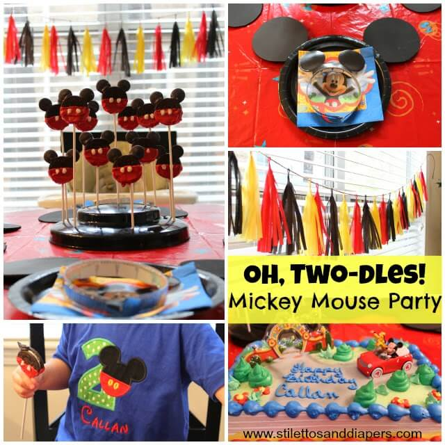 Oh, Two-dles Mickey Party!