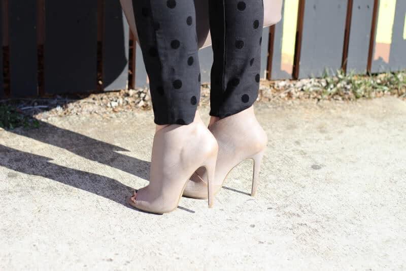 Stilettos and Diapers: Polka Dot pants