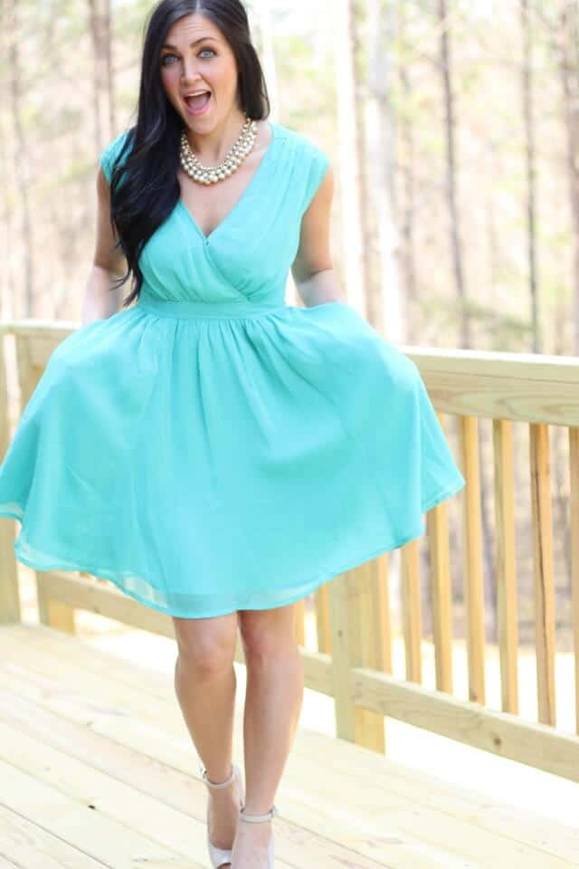 Pearls, Mint, Monogram and pockets