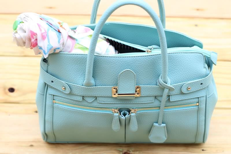 Mint Tote for Spring