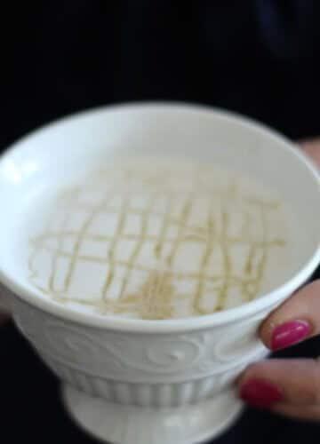 Make a Caramel Macchiato at Home {with Verismo}