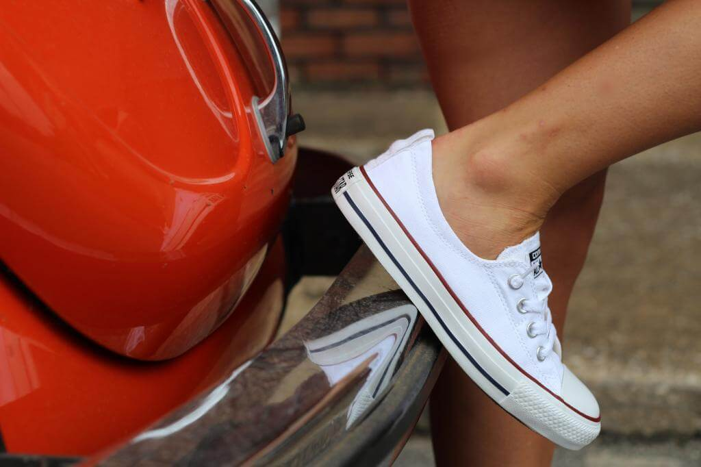Stilettos and Diapers: Cutoffs and Converse