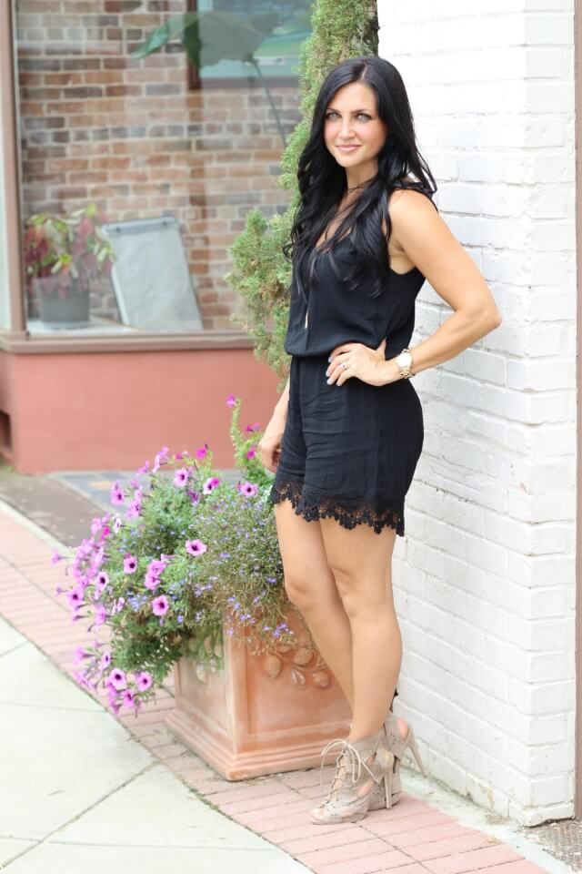 Stilettos and Diapers: Romper with heels
