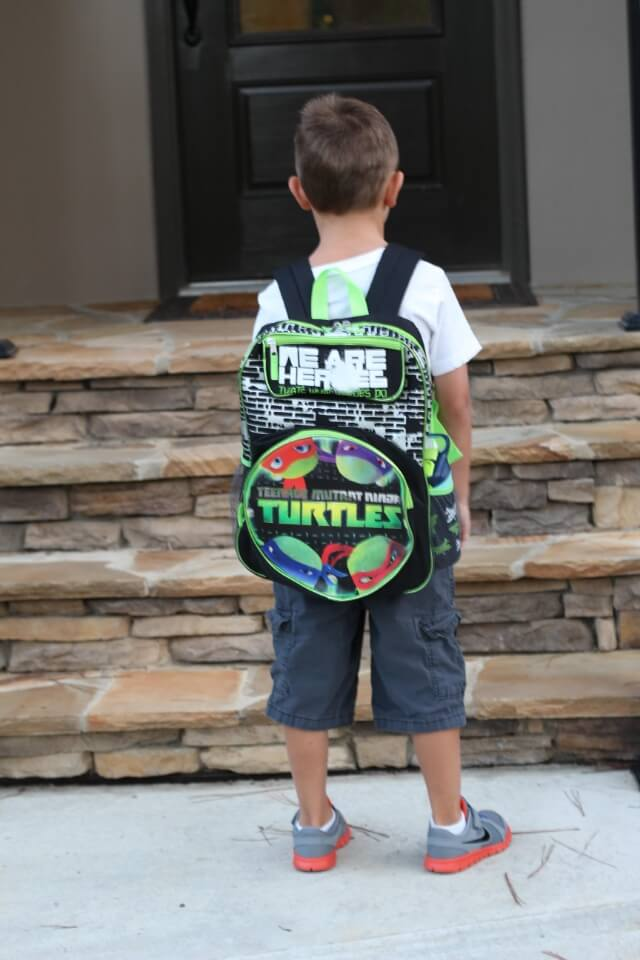 Back to School via Stilettos and Diapers
