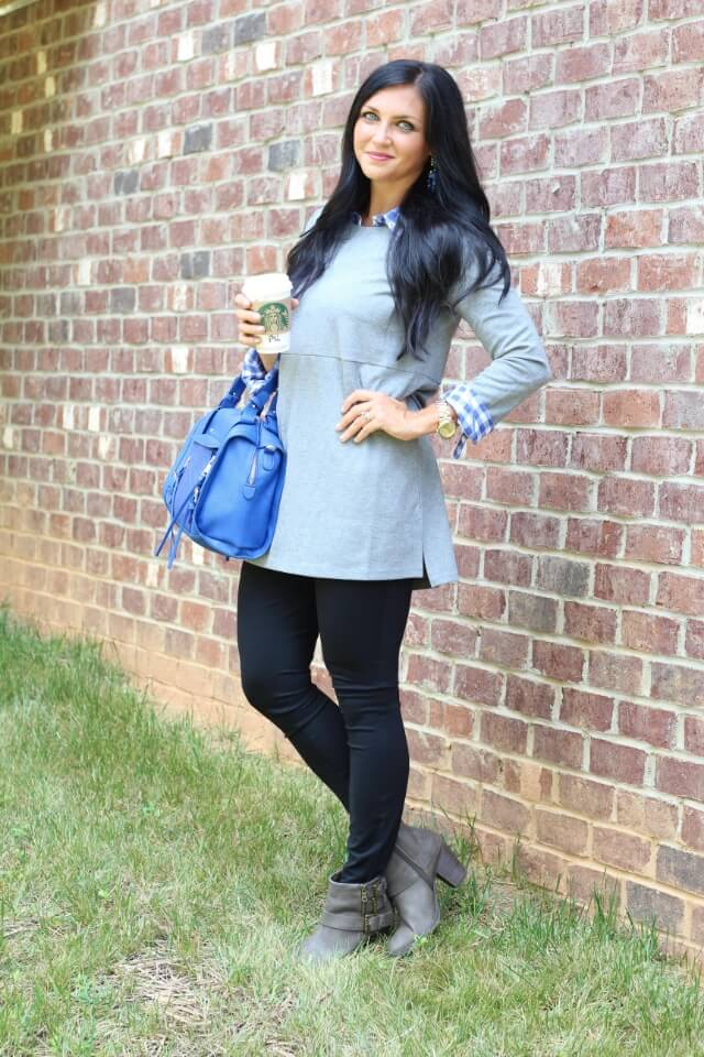 Easy, fall style with J Jill - www.stilettosanddiapers.com