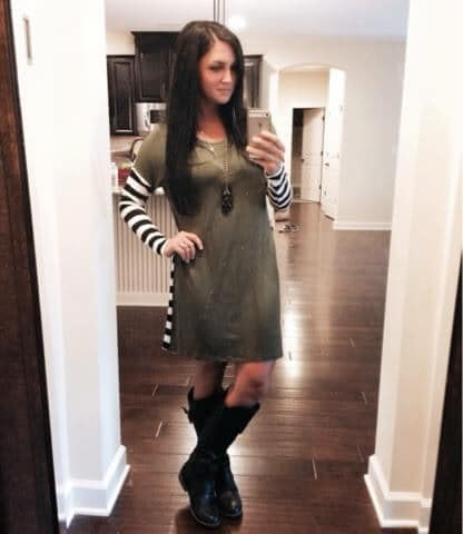 Stilettos and Diapers: Down the Line Tunic Dress from Molly Suzanne