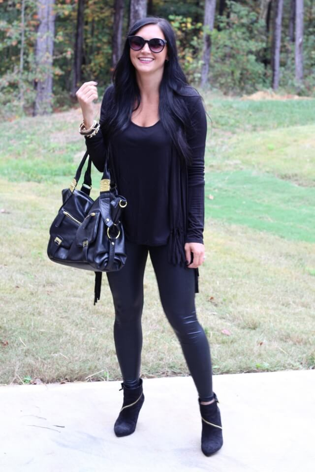 Stilettos and Diapers: How to wear an all black look