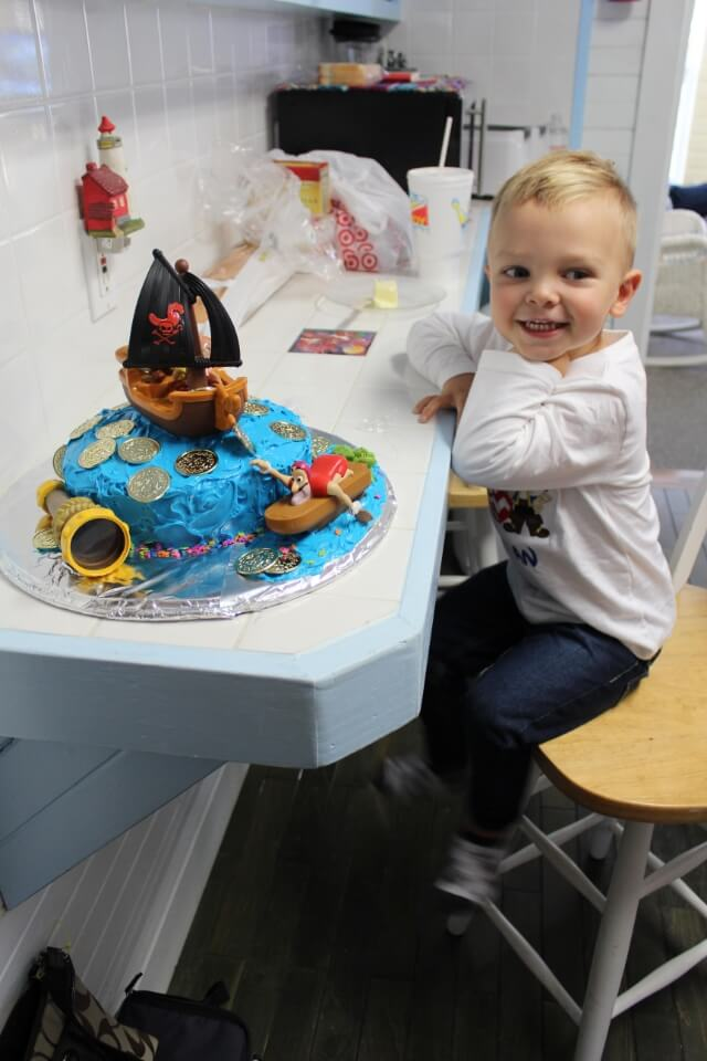 Stilettos and Diapers, Jake and the Neverland Pirates Cake