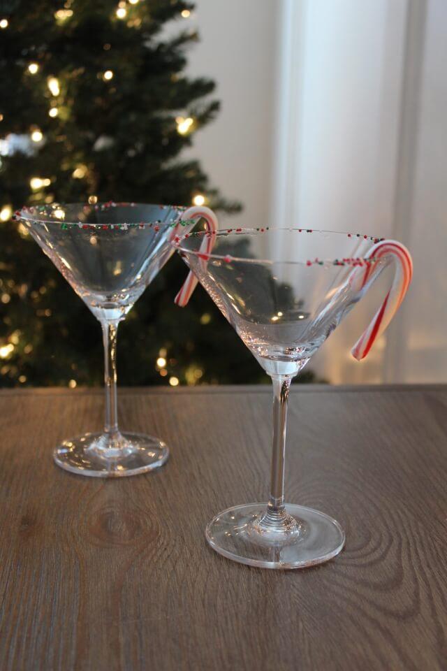 Peppermint Mocha Martini via Stilettos and Diapers