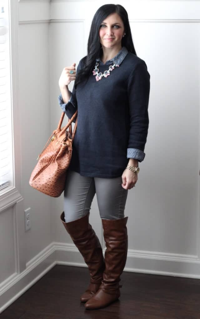 J Jill Sweater, Spring Colors via Stilettos and Diapers
