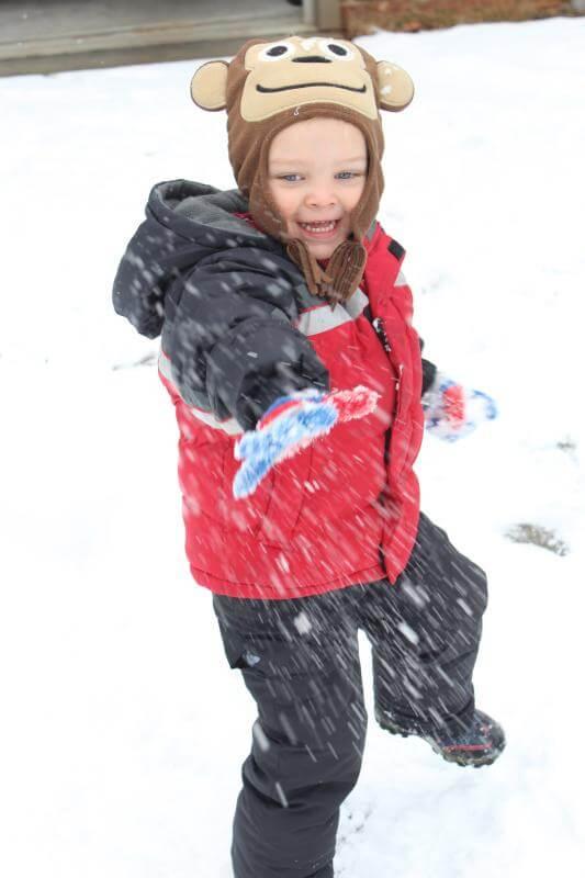 Charlotte, NC snow days via Stilettos and Diapers