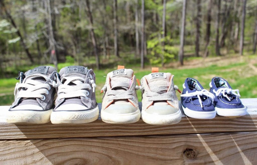 3 boys Gender Reveal: Stilettos and Diapers