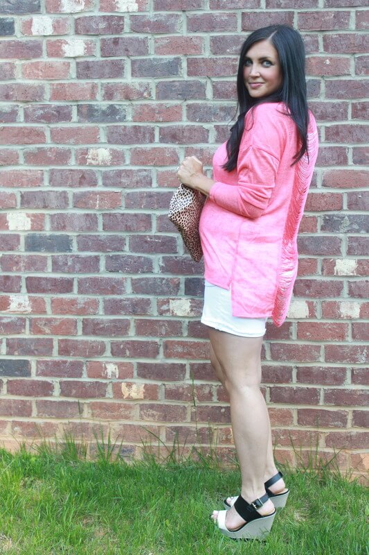 Maternity Fashion, 23 Weeks Pregnant via Stilettos and Diapers