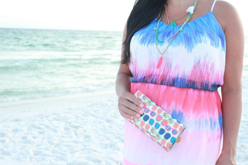Beach Maternity Style: 31 Weeks Pregnant with JC Penney