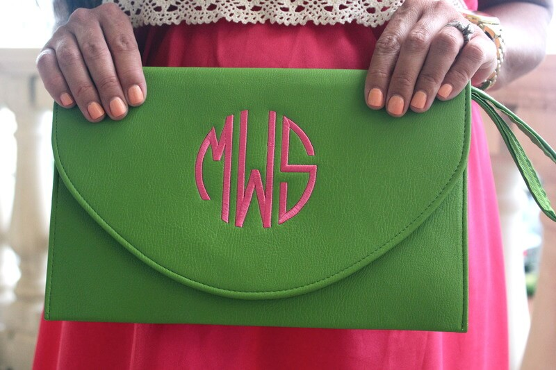 30 Weeks pregnant, 9th and Elm, Monogram Clutch Giveaway