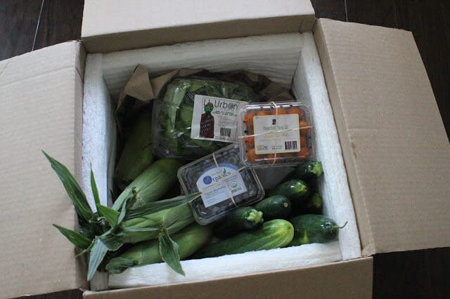 The Produce Box, Produce Delivery