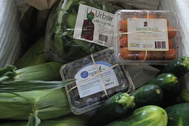 Local produce delivery