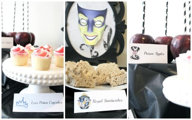 Descendants Villain Party Food