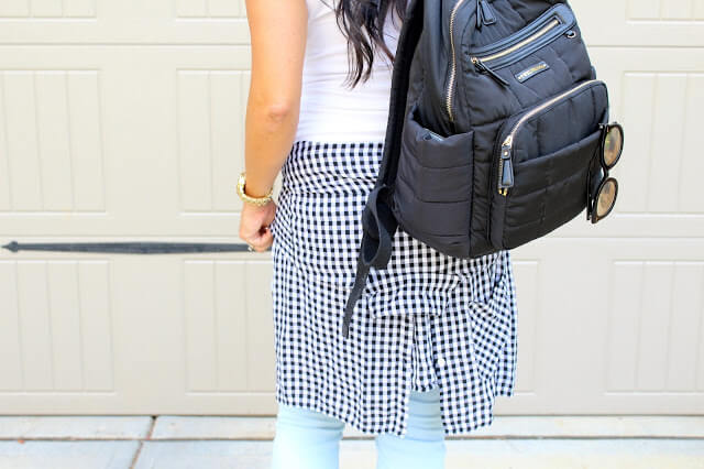 Gingham, Backpack