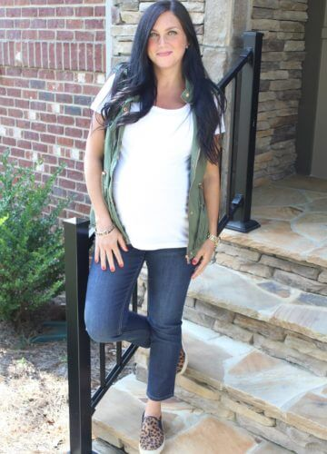Fashion || Fall Transition: 38 Weeks Pregnant (and a giveaway!)