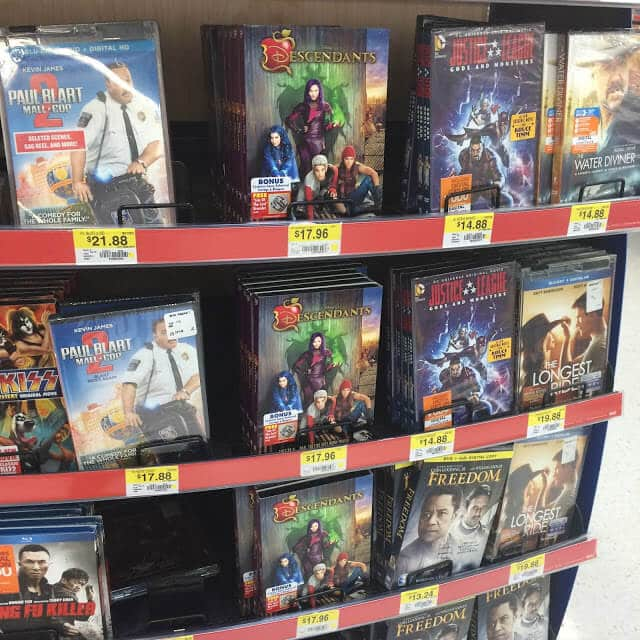 Descendants at Walmart