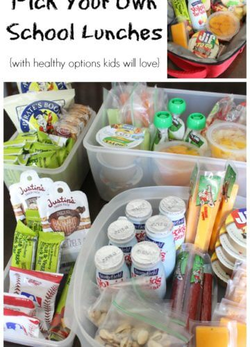 Pick Your Own School Lunches: Packing Lunch Made Easy!