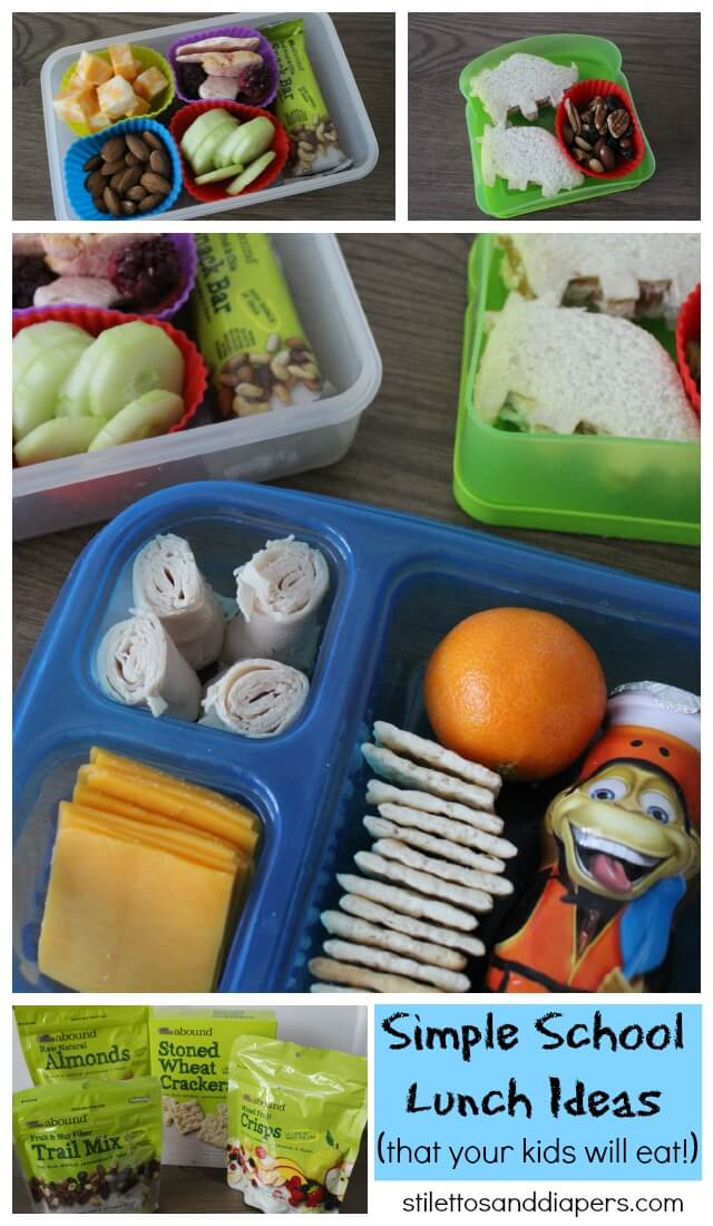 Easy School Lunches, Simple Lunches to Pack via Stilettos and Diapers #CVSBackToSchool