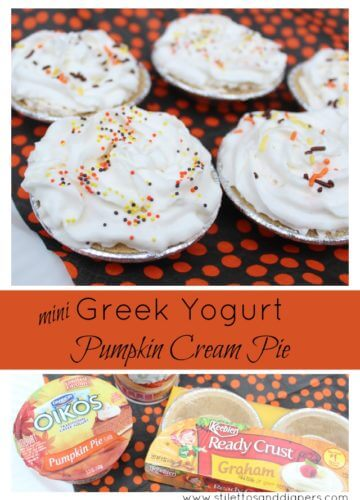 Recipe || Greek Yogurt Pumpkin Cream Pie