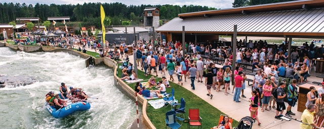 Whitewater center Fall Finale