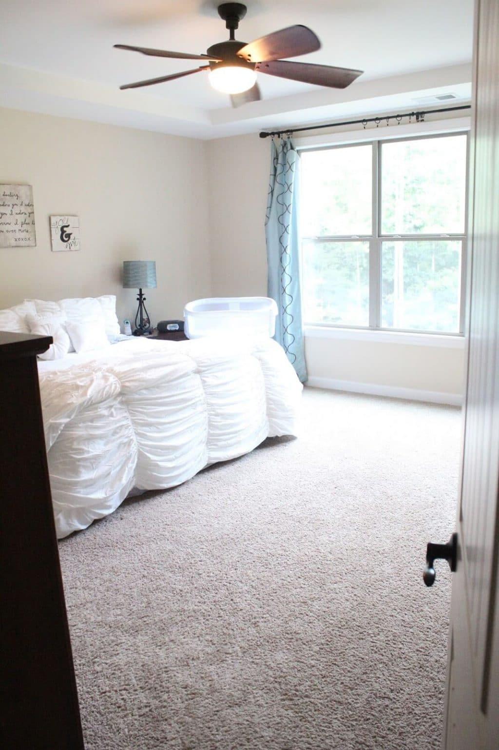 White Master Bedding