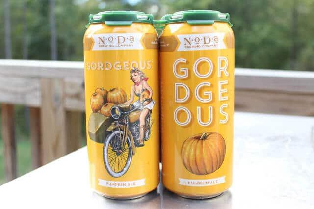 NoDa Gordgeous Pumpkin Beer