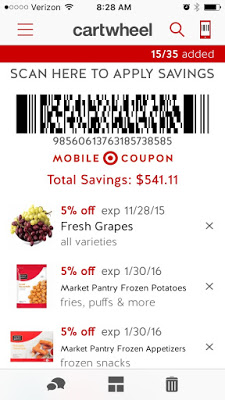 How to use Target Cartwheel, Target coupons