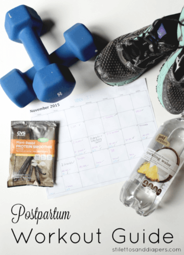 Postpartum Work Out Schedule
