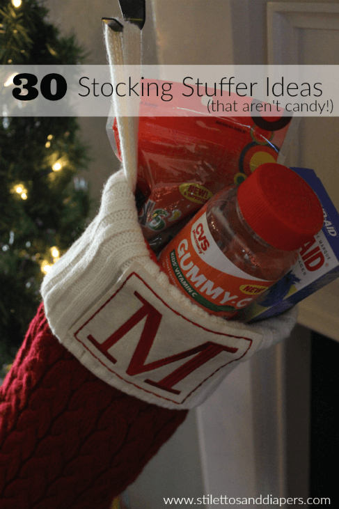 Non candy stocking stuffer ideas. #FindYourHealthy