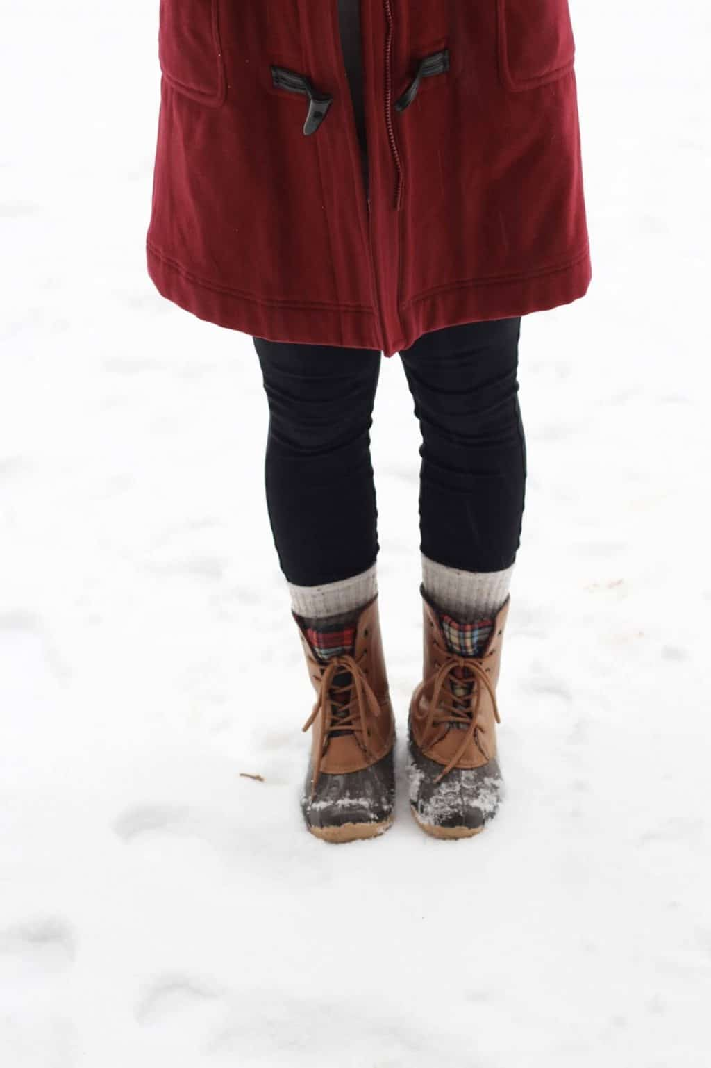 Duck Boots, No Nonsense Boot Socks Giveaway