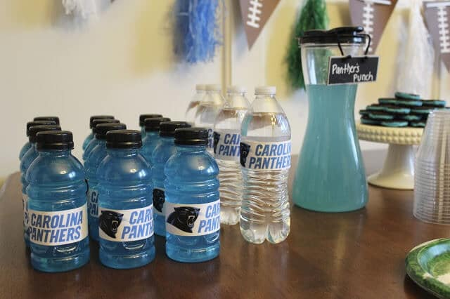 Carolina Panthers Party Ideas