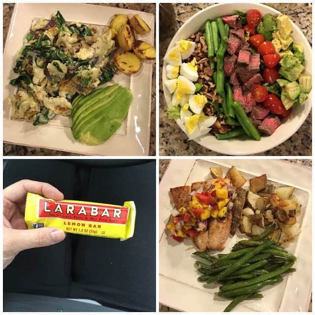 Whole30 Meal plan, week 1 with pictures