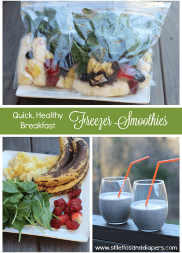 Recipe || Smoothie Freezer Bags