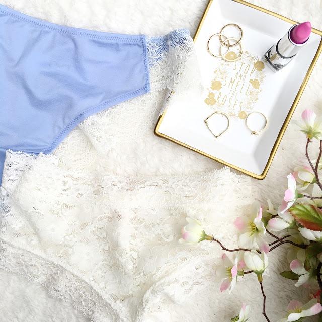 Pretty Lace Panties via Kohls