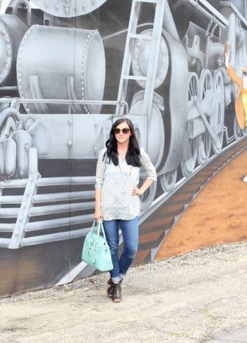 Fashion || Train to Georgia