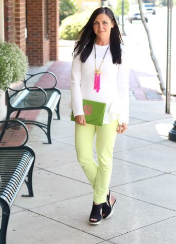 Fashion || Whites and Brights
